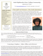 OHDV Newsletter - Issue 68 - Fall 2021