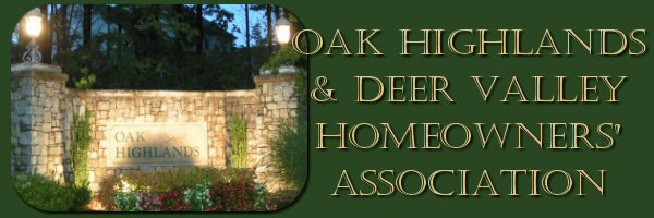 Oak Highlands Homeowners Association
